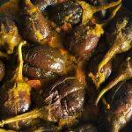Bharleli Vangi (Mini Aubergine masala)